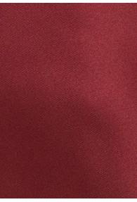 Kunstfaser-Herrenkrawatte XXL  einfarbig dunkelrot