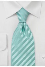 XXL-Krawatte einfarbig Streifen