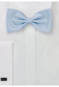 Herrenschleife einfarbig hellblau