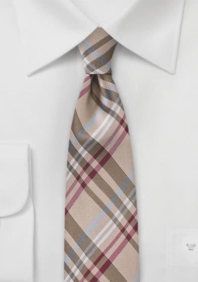 Modische schmale Krawatte ungewöhnliches