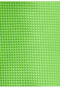 Kravatte Netz-Struktur giftgrün
