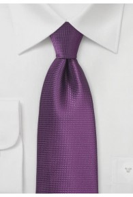 Krawatte Gitter-Struktur lila