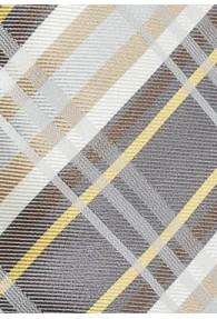 Businesskrawatte modernes Karo-Design beige