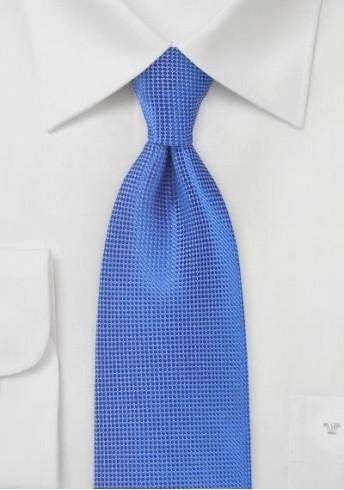 XXL-Krawatte monochrom strukturiert royal