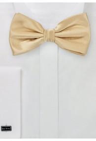 Herrenschleife Poly-Faser gold