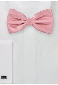 Herren-Schleife Poly-Faser rosa