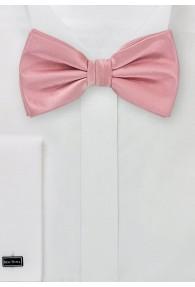 Herrenschleife Poly-Faser rosa
