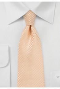 Krawatte Waffel-Oberfläche lachs
