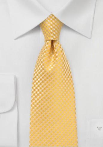 Krawatte Netz-Struktur gelb