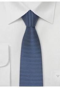 Rimini Krawatte nachtblau/silber