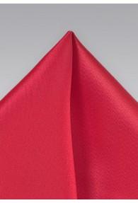Einstecktuch Mikrofaser rot