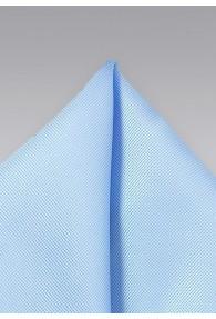 Einstecktuch texturiert taubenblau