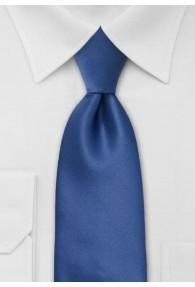 Clip-Krawatte blau