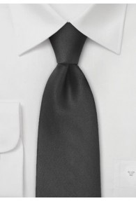 Limoges XXL Krawatte in schwarz