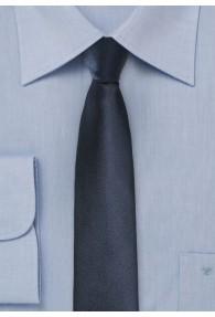 Krawatte schmal geformt unifarben dark navy