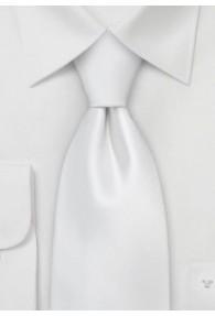 XXL-Krawatte sevenfold perlweiß