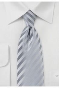 Granada Krawatte silberfarben