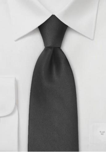 Clip-Krawatte schwarz