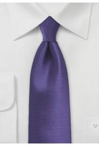 Kravatte monochrom lila Struktur