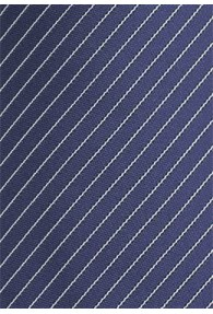 Herrenkrawatte dunkelblau Lamellen-Linien