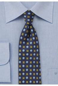 Krawatte Embleme navy