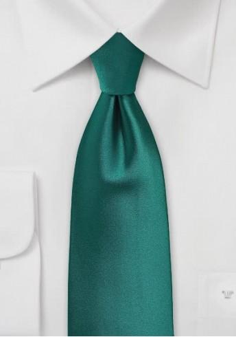 Krawatte einfarbig dunkelgrün