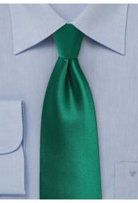 Krawatte monochrom dunkelgrün