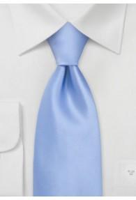 Krawatte Kinder unifarben leichtblau