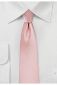 Schmale Krawatte in rosé