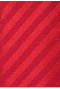 Rote Clipkrawatte