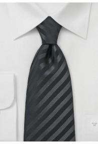 Granada XXL-Krawatte in schwarz