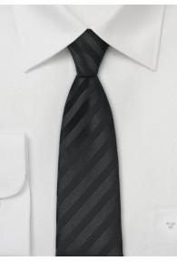 Granada Schmale Krawatte in schwarz
