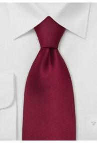 Kinder-Krawatte sherryrot