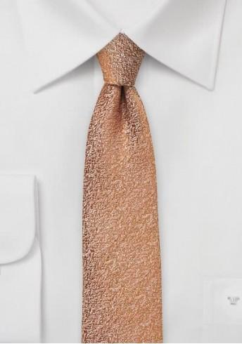 Kravatte gesprenkelt Struktur rostrot