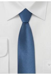 Schmale Krawatte mittelblau