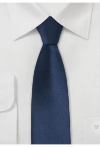 Limoges schmale Krawatte dunkelblau