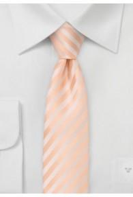 Granada  schmale Krawatte in apricot