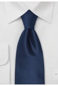 Clip-Krawatte dunkelblau