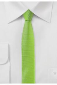 Krawatte extra schmal geformt hellgrün