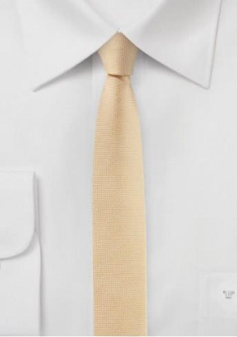 Krawatte extra schlank lachs
