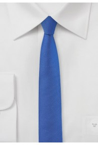 Krawatte extra schmal ultramarinblau