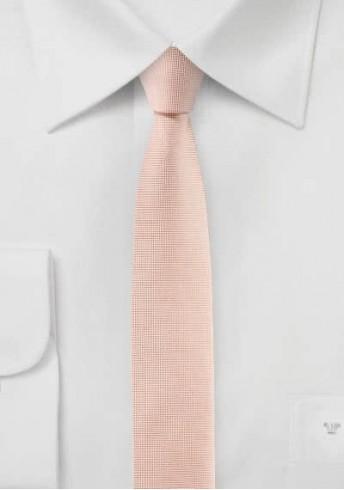 Businesskrawatte extra schlank rosa