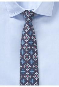 Moderne Baumwoll-Krawatte mit konservativem Look