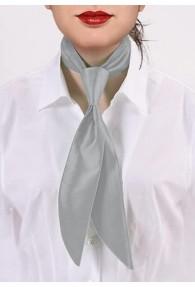 Damenkrawatte grau Poly-Faser