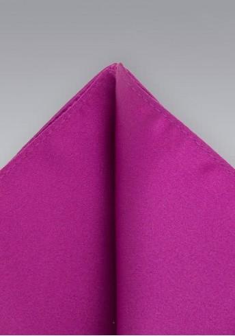 Einstecktuch lila