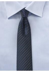 Businesskrawatte schlank Streifen-Struktur