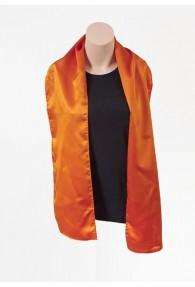Damenschal orange aus Poly-Faser