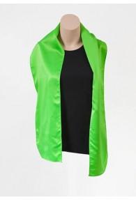 Damenschal grün aus Kunstfaser