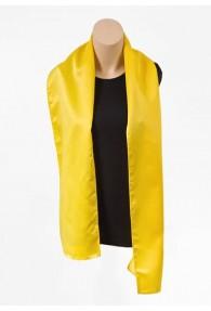 Damenschal gelb aus Kunstfaser