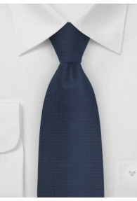 Kravatte Struktur navyblau